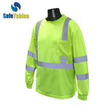 Newest t shirt with wholesale price t-shirt printing safety shirts