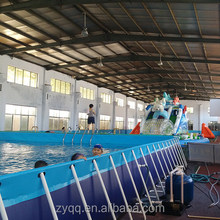 Guangzhou Palicy PVC fabric material metal frame swimming pool
