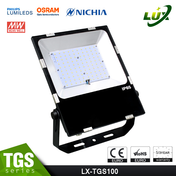 new design slim outdoor led flood light high lumen 110w led flood light