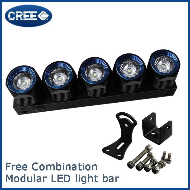Wholesale IP68 waterproof 18w LED light bar hot sxs 4x4 LED light bars with cree chip