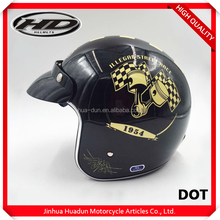 Top grade professional design ABS enclosure shakeproof vintage helmets