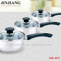 Disposable 6pcs Stainless Steel Saucepan