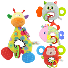 multi-function o type tooth doll Safety and environmental protection for baby animal tooth gum