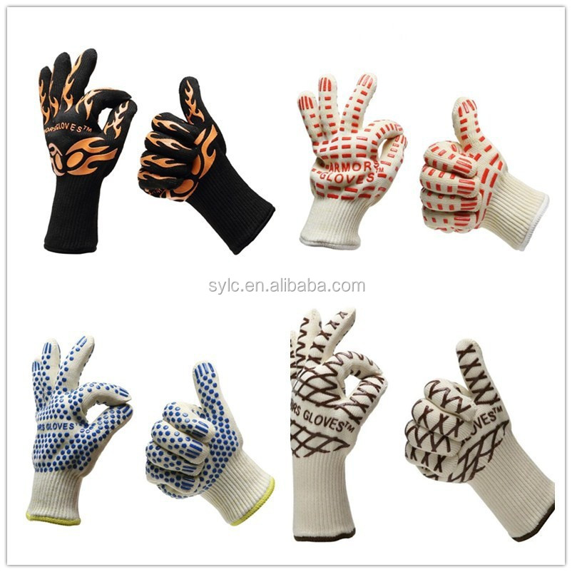 Manufacturers provide offset printing high temperature resistant gloves heat resistant to high temperature hot resistant glove.