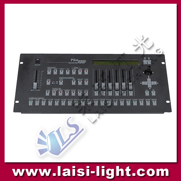 Pilot 2000 Controller DMX 512 LED Computer Lighting Controller