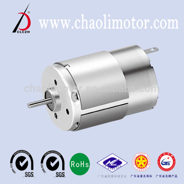 Hot selling small powerful electric motors CL-RS385PH for Household appliances