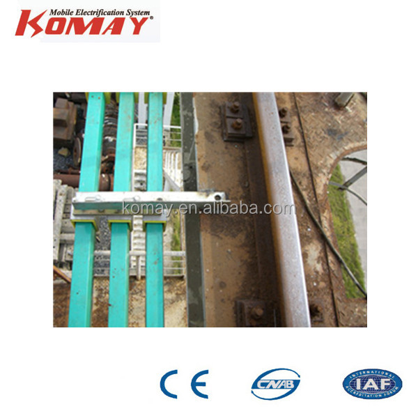W35 enclosed single pole conductor rail system