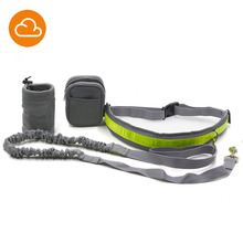 Pet Supply Training Dog Adjustable Harness Lead Leash Traction Rope Set With Reflective Strip For Running