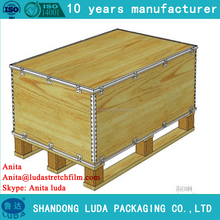 Luda European Standard Collapsible Plywood Box With Pallet