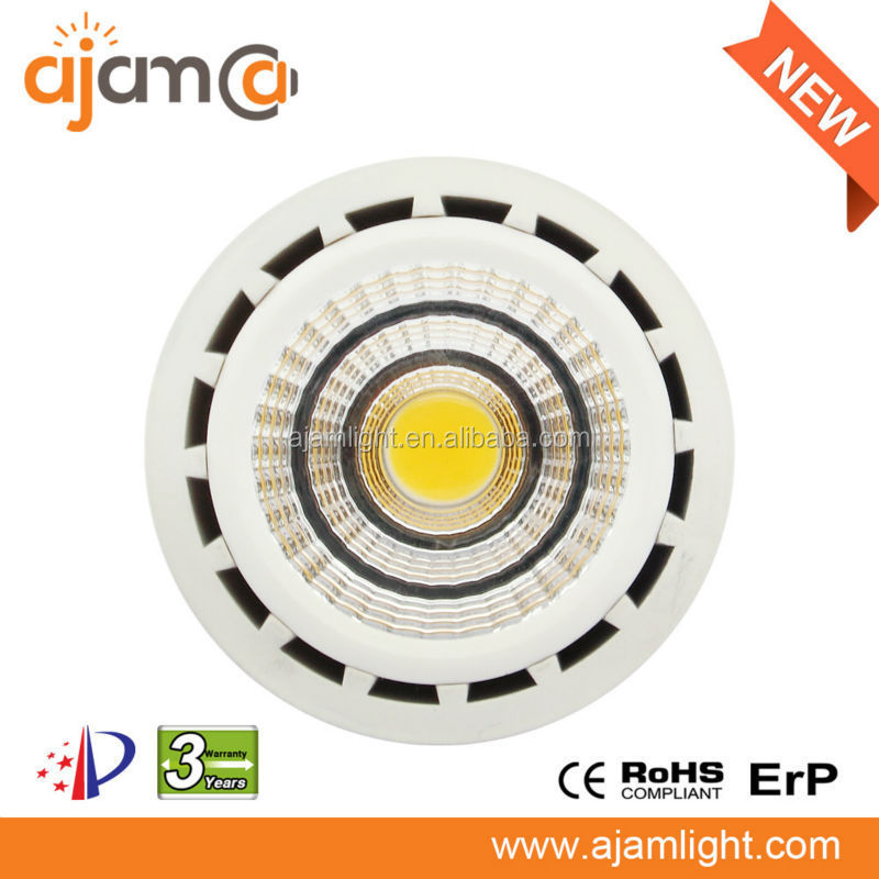 LED recessed lighting 8w cob reflector led spotlight ra>80 replacement 90W halogen lamp