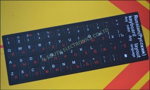 RU/Russian keyboard stickers for laptops repair Notebook parts