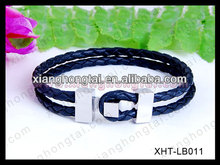 magnetic leather fashion bracelets vners gift for world cup 2014