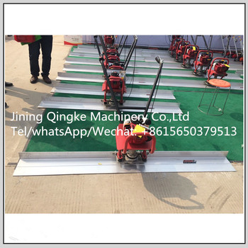 Gasoline concrete vibration scaleing machine with great price