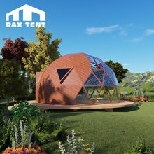 6M cheap factory price dome house prefabricated with aluminum frame