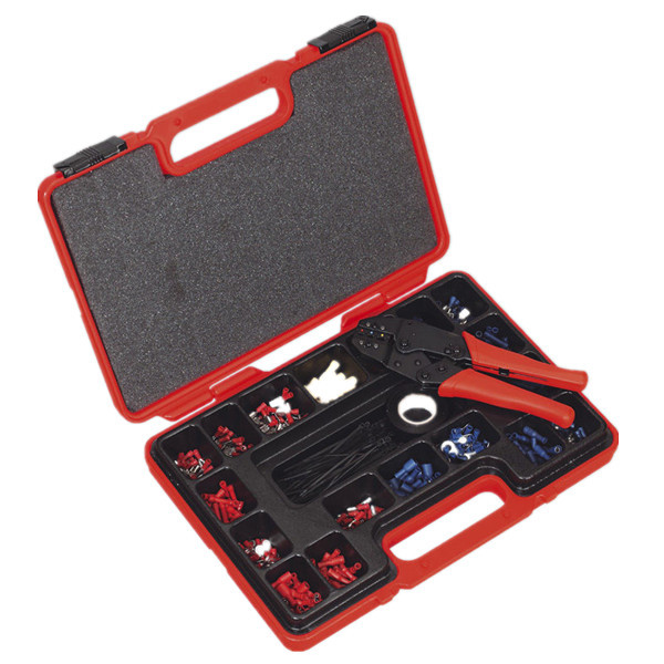 552pc Assorted Ratchet Crimping Tool Kit