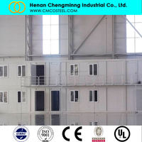 40ft 20ft sandwich panel light steel prebuilt house container prices prefab portable container house luxury