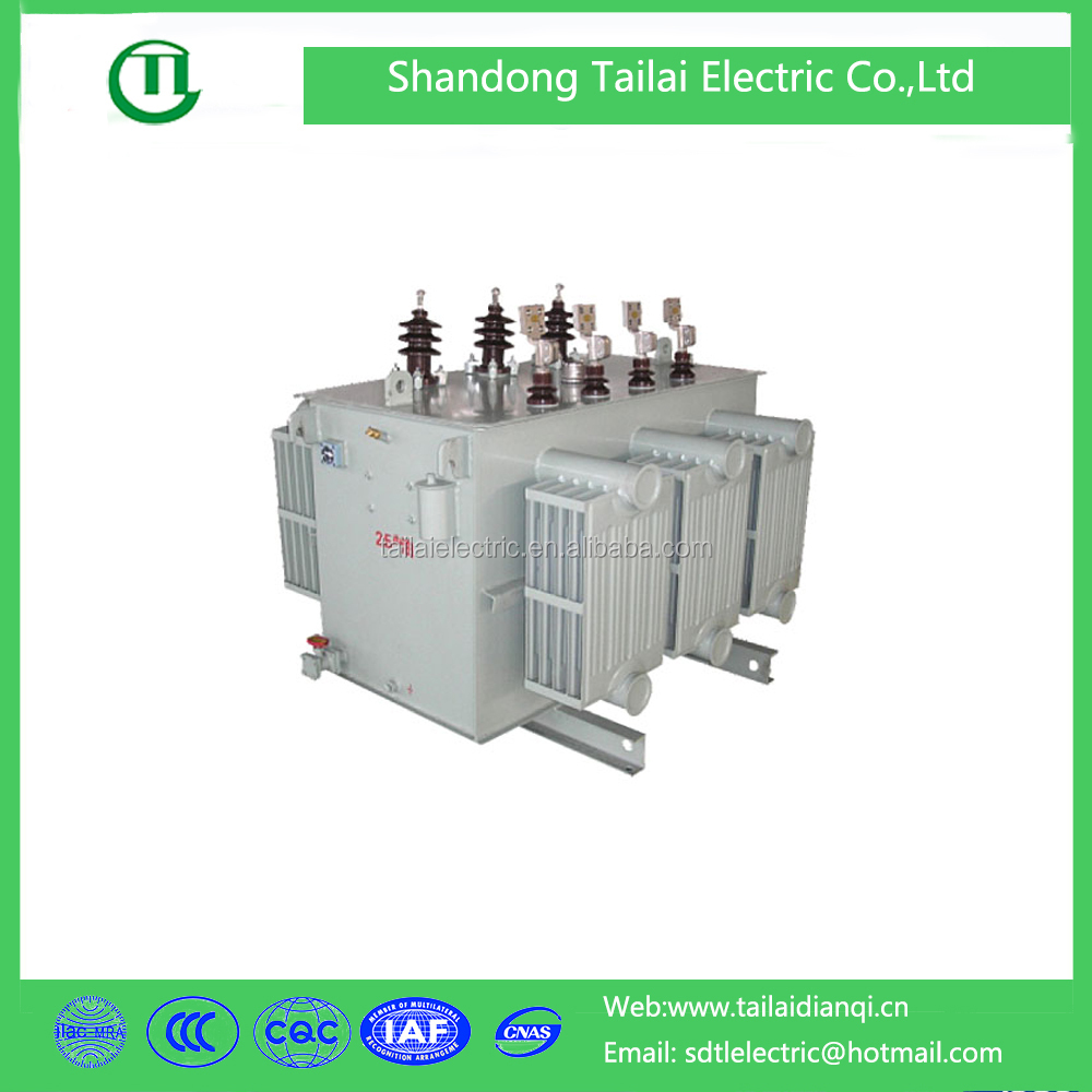 63kva 3 phase oil type outdoor power transformer