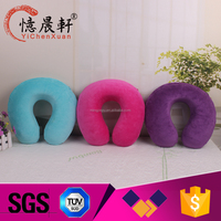 Promotion wholesale custom foam neck pillow,electric heated neck pillow