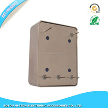 DIL-8 pin package of TCXO metal housing and iron lid