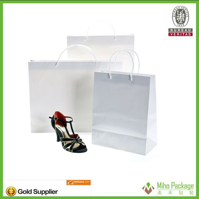 China Professional Supplier craft paper bags For Shoes