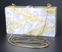 wholesale acrylic box clutch