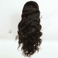 24inch Brazilian hair long wigs for black people