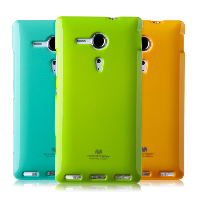 TPU Jelly Case, Goospery Skin Cover Case for Sony Xperia Z1 Compact