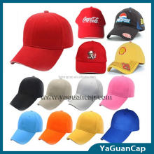 100% cotton customized logo promotional baseball caps sports cap hat