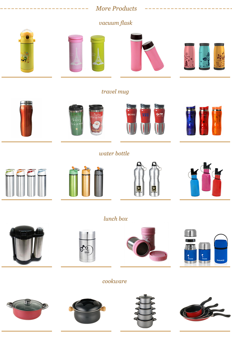 Double wall stainless steel thermos flask