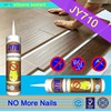 JY710 cheap glue adhesive free nail non-nail silicone free sealant for wood stone concrete LED letters