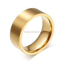 New Design Rings Simple Gold Finger Ring Design 2015 China Manufactory