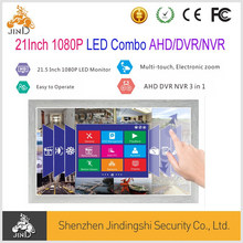 21.5Inch LED Combo DVR/HVR/AHD DVR with Multi Touch Control