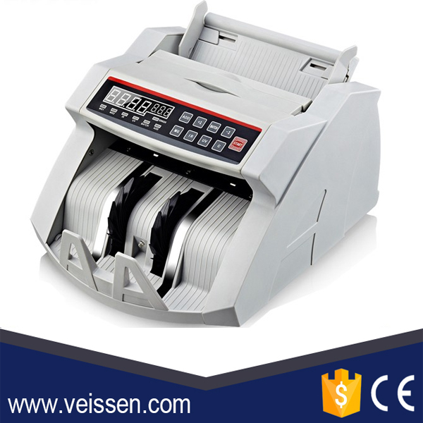 USD / EURO Cash Machine Bill Money Currency Counter With UV MG Detection Bill Counter VS-MC13