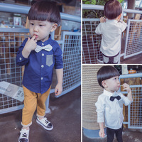 Ready Made Garments Manufacturers New Born Shirts Long Sleeve Boy's Tshirts
