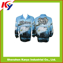 2014 New Product For Long Sleeve Fishing Jerseys