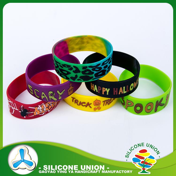 Boa promoção para o concerto de logotipo personalizado de silicone pulseiras personalizadas baratos