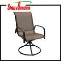 Steel Frame 360 Degree Swivel Chair
