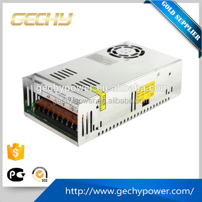400W 370V DC TO 24V AC 29A enclosed LED switching mode power supply