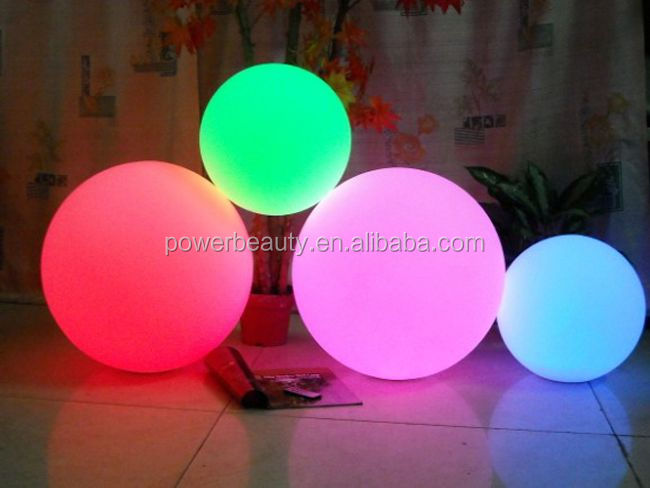Pool Light Globes /Rechargeable Swim Pool Floating LED Ball Lighting