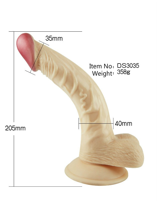 Silicone sex big dildo online shop rubber artificial penis for men