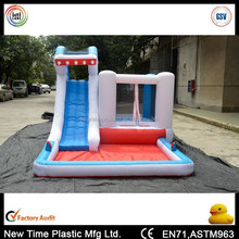 children inflatable water slide and slip for fun