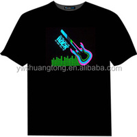 Hot selling light up t-shirt led display