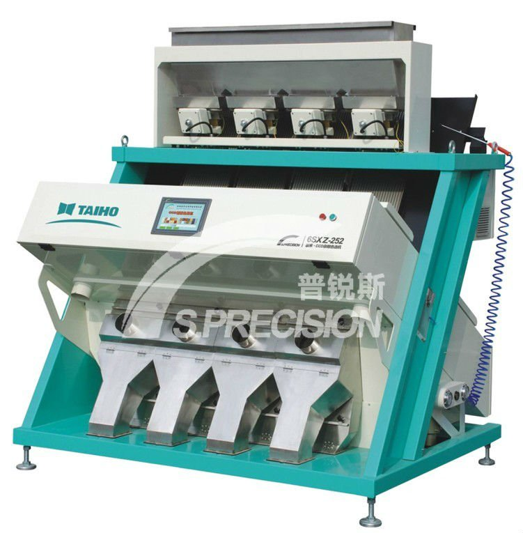 S.precision CCD dehytrated vegetable color soring machine