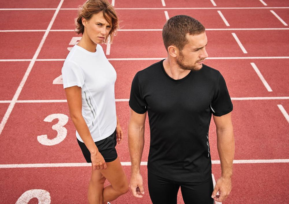 Dry fit Gym T-Shirts Blank  Running Jersey Short Sleeve Sports T Shirt Lightweight  Custom Logo Wholesale Price