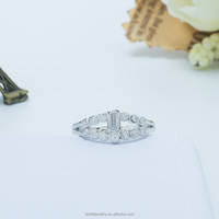 Square Stone Ring Designs Factory Direct
