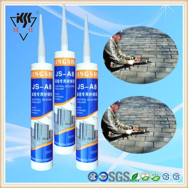 Non Pollution, Uv Resistance Exterior Wall 100% Neutral Silicone Based Exterior Caulk