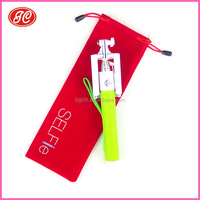 2015 Hot sale product selfie stick Pouch& Customized Selfie stick Pouch& microfiber selfie-stick pouch