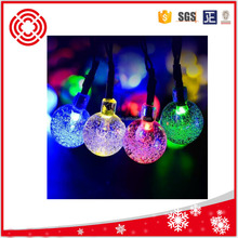 Colorful Crystal Ball 20-80 LED Battery Operated String Fairy Lights Xmas Wedding Party Decoration