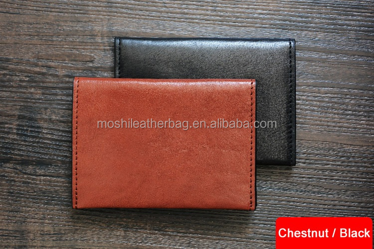 Custom Handmade Vegetable Tanned Italian Leather Passport Holder Wallet Clutch D050