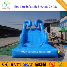 blue ocean wave inflatable water slide, inflatable water slide